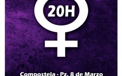 Concentracións contra o novo Feminicidio na Galiza
