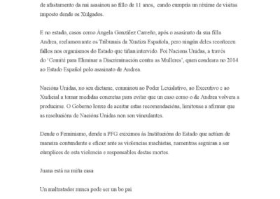 #ComunicadoJuanaRivas