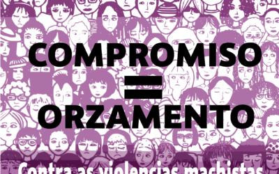 Acción Feminista o 16M contra o incumplimento nos Orzamentos do Estado 2018 dos 200 millóns para Violencia de Xénero